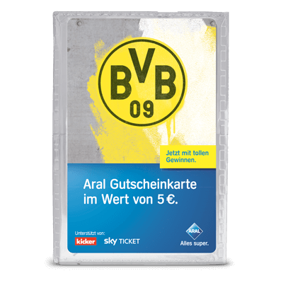 Borussia Dortmund 5 EUR - Sammeltütchen