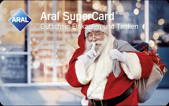 Individueller Wert Einkaufen & Tanken - Weihnachtsmann